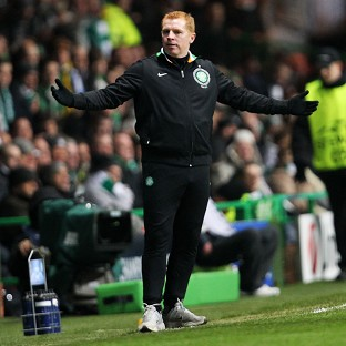 Neil Lennon was unhappy with the referee in Celtic's Champions League clash with Juventus
