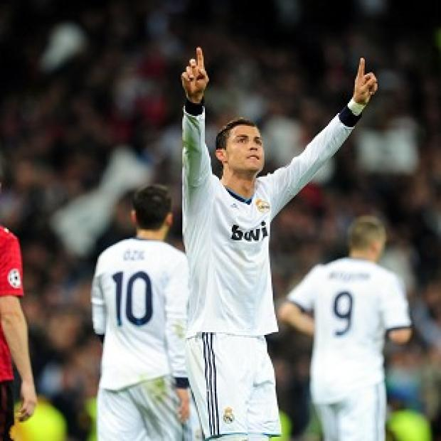 Cristiano Ronaldo scored a first-half equaliser against Manchester United