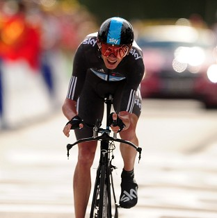 Chris Froome claimed victory in the Tour of Oman