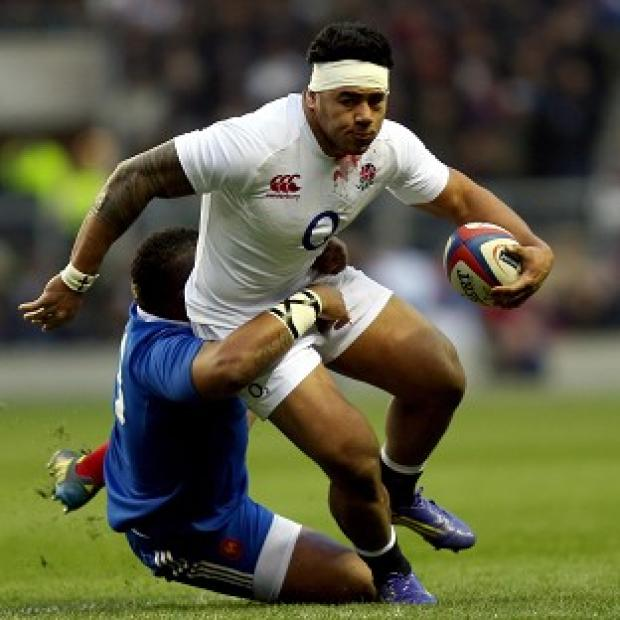 Manu Tuilagi scored a try on his return to the England team