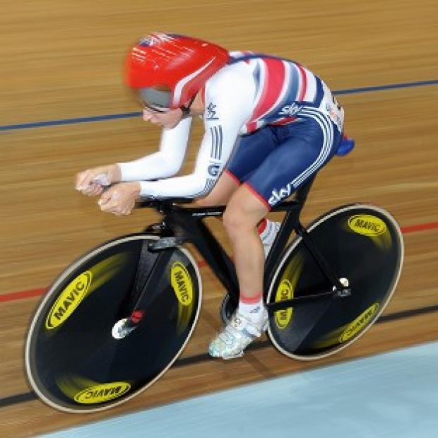 Laura Trott could not successfully defend her world omnium title