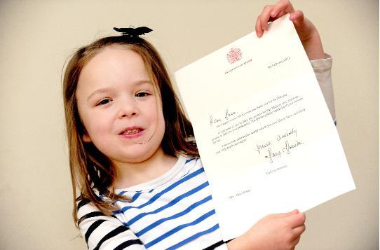 Royal seal of approval for Maia's portrait of Queen