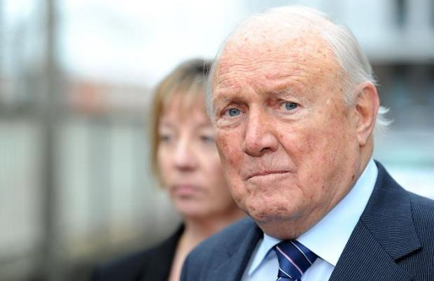 Stuart Hall in court on sex charges