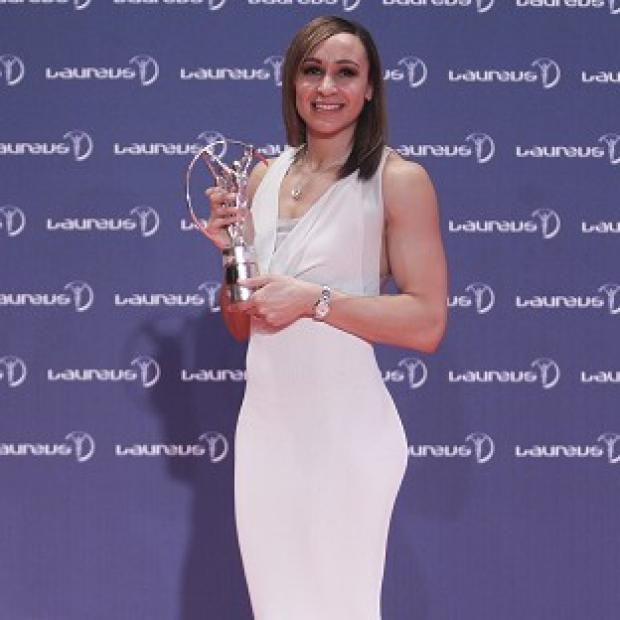 Jess Ennis was named World Sportswoman of the Year in Brazil (AP)