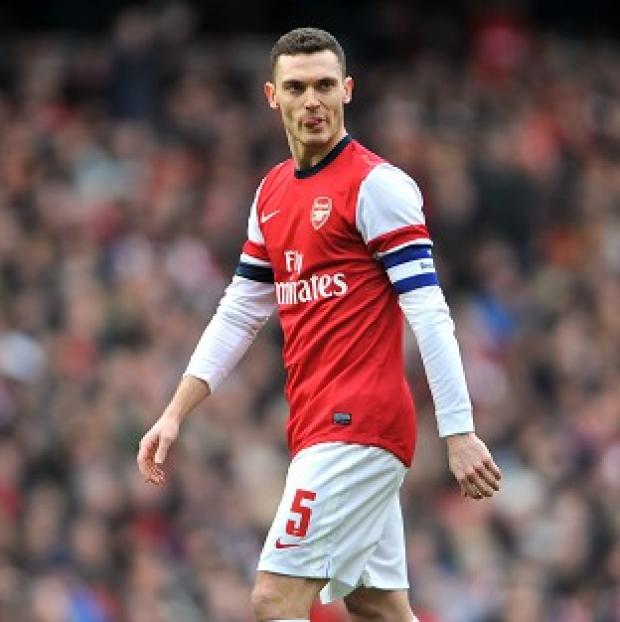 Thomas Vermaelen's starting berth is not assured, even though he is Arsenal captain