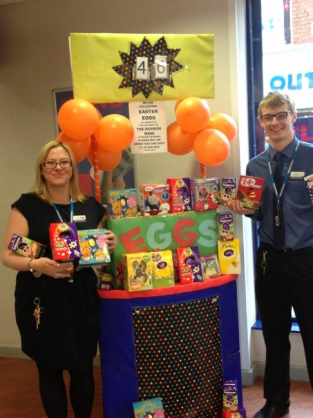 Easter egg appeal for Wigan Infirmary