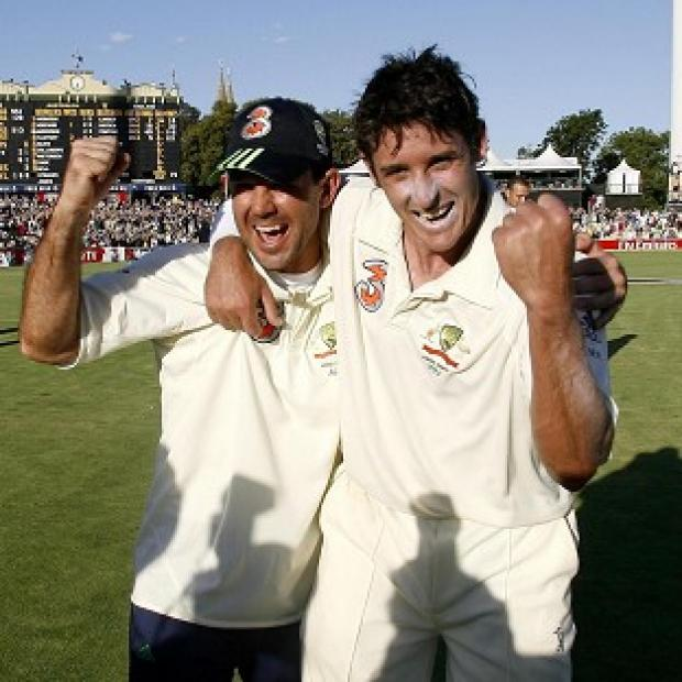 Ricky Ponting, left, and Mike Hussey, right, both retired during the Australian summer