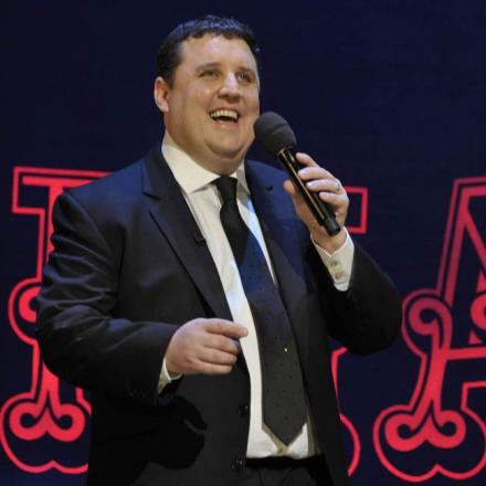 Peter Kay, who will switch on the Blackpool illuminations this year