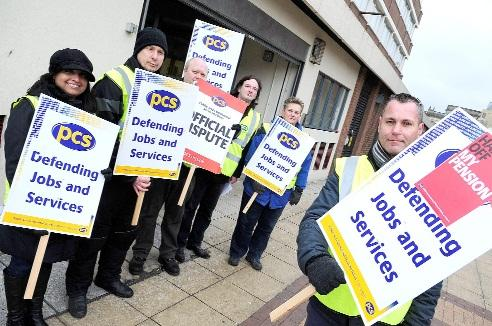 PCS members Bolton DWP