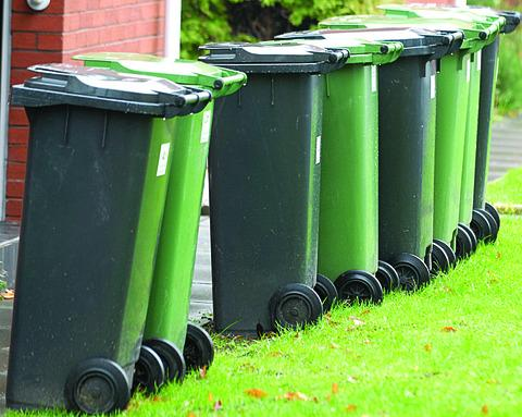 Wheelie bins in Halliwell to be 'tagged' to let people know if they're being used properly