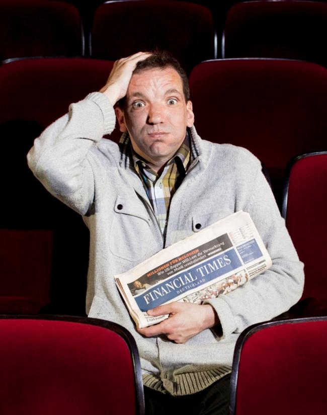 REVIEW: Henning Wehn at The Lowry