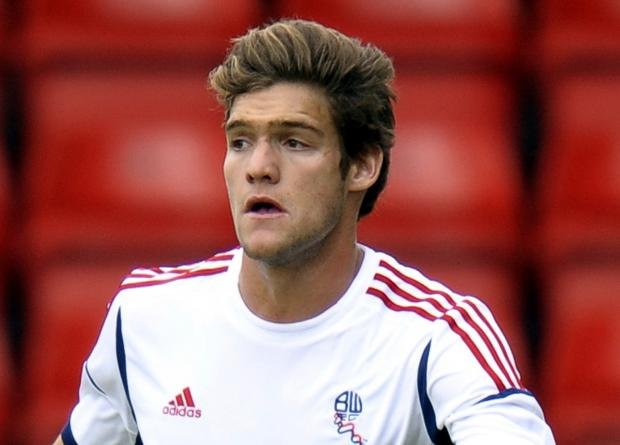 The Bolton News: Marcos Alonso in Wanderers colours