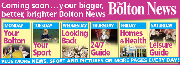 The Bolton News is getting bigger and better