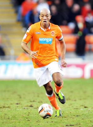 New Wanderers signing Alex Baptiste, from Blackpool