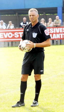 Referee Mark Halsey takes on one of his toughest challenges yet