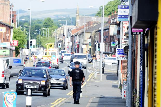 Police patrolling Halliwell Road to crack down on drugs, prostitution and alcohol