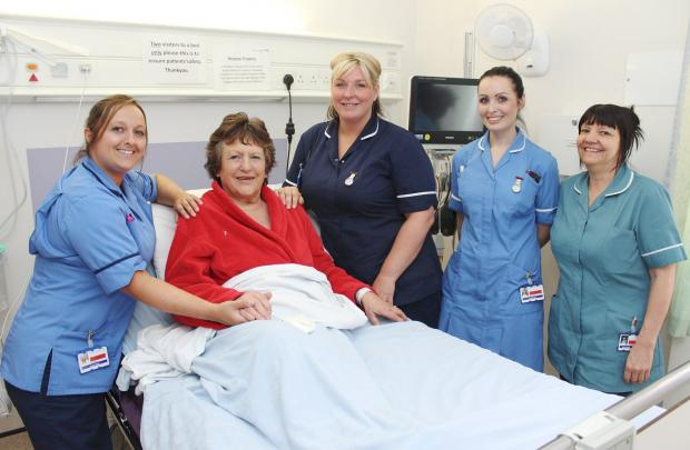 Ten years since Bolton raised £1.3 million for coronary care unit