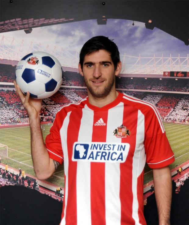 The Bolton News: Sunderland's Danny Graham is a Wanderers target