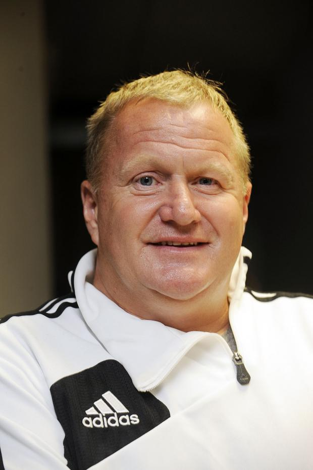 The Bolton News: Bolton Wanderers legend John McGinlay, who will be playing in the all-start football match