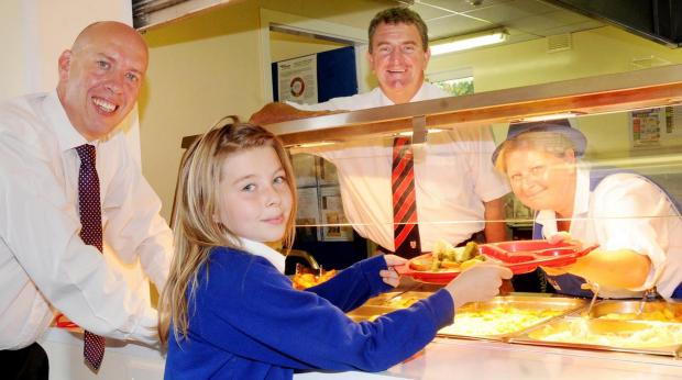 Bolton is 'ahead of the game' with its school dinners