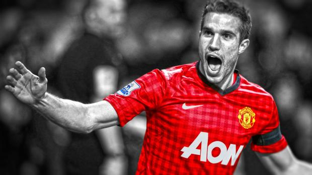 Robin van Persie questioned the tactics of Manchester United in midweek