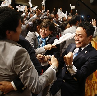 The IOC confirmed Tokyo will host the Olympics and Paralympics in 2020 (AP)
