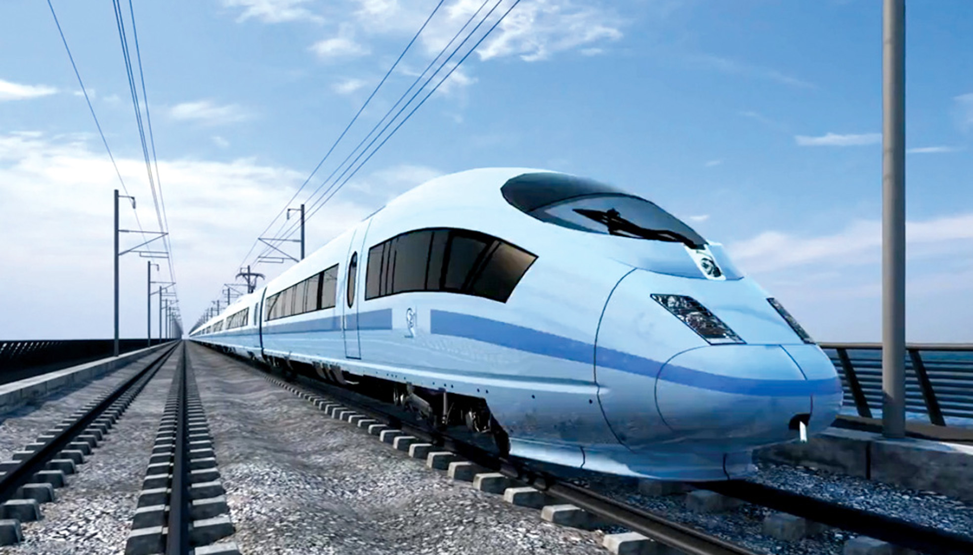IMPRESSION What the proposed high-speed rail link HS2 would look like