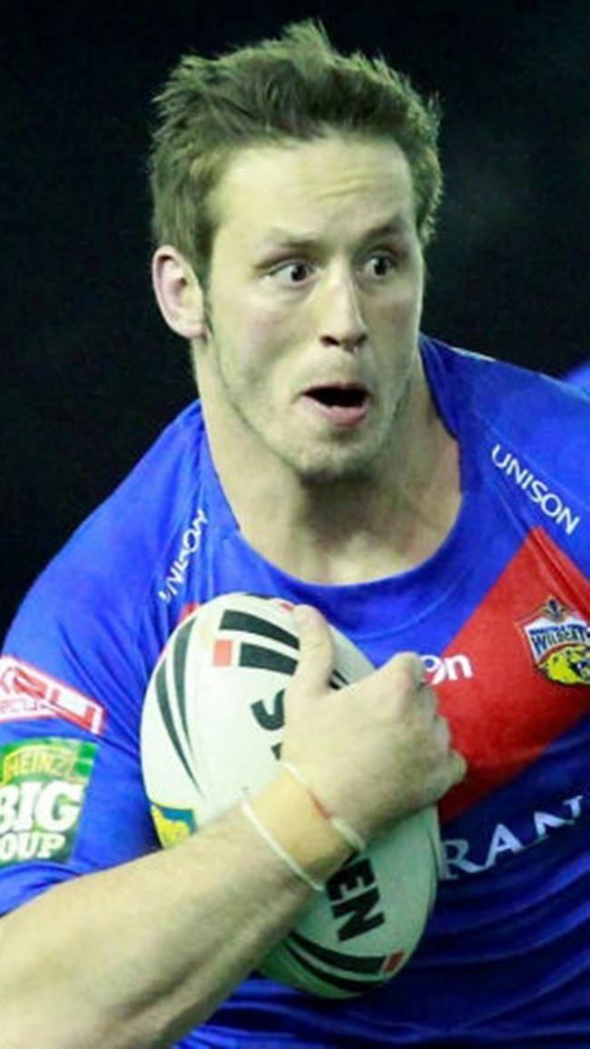 Oliver Wilkes, one of the Leigh try scorers
