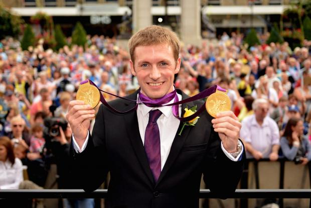 The Bolton News: Jason Kenny with his gold medals