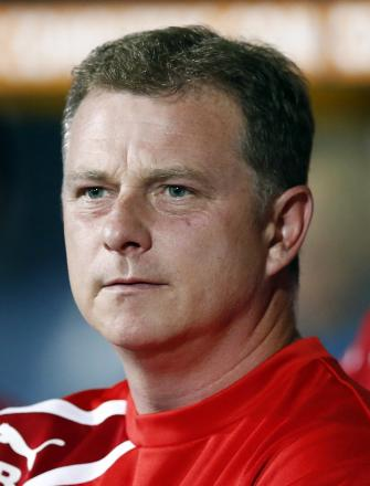 Mark Robins berated his players for their failings at both ends of the field