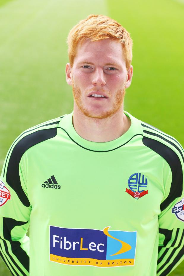 The Bolton News: Wanderers keeper Adam Bogdan