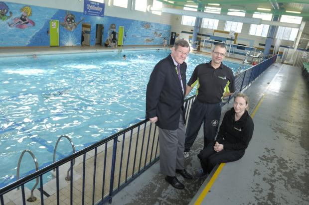 The Pelican Centre pool in Tyldesley