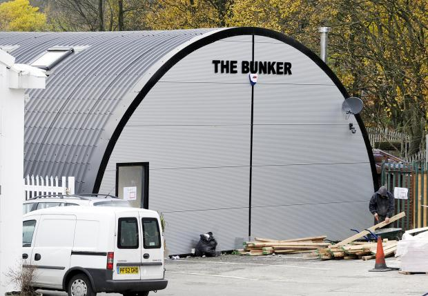 FINED The Bunker which houses Arabian Mist