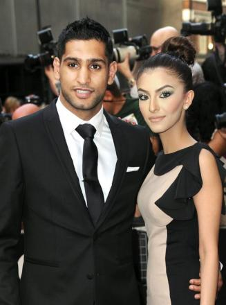 Amir and his wife Faryal