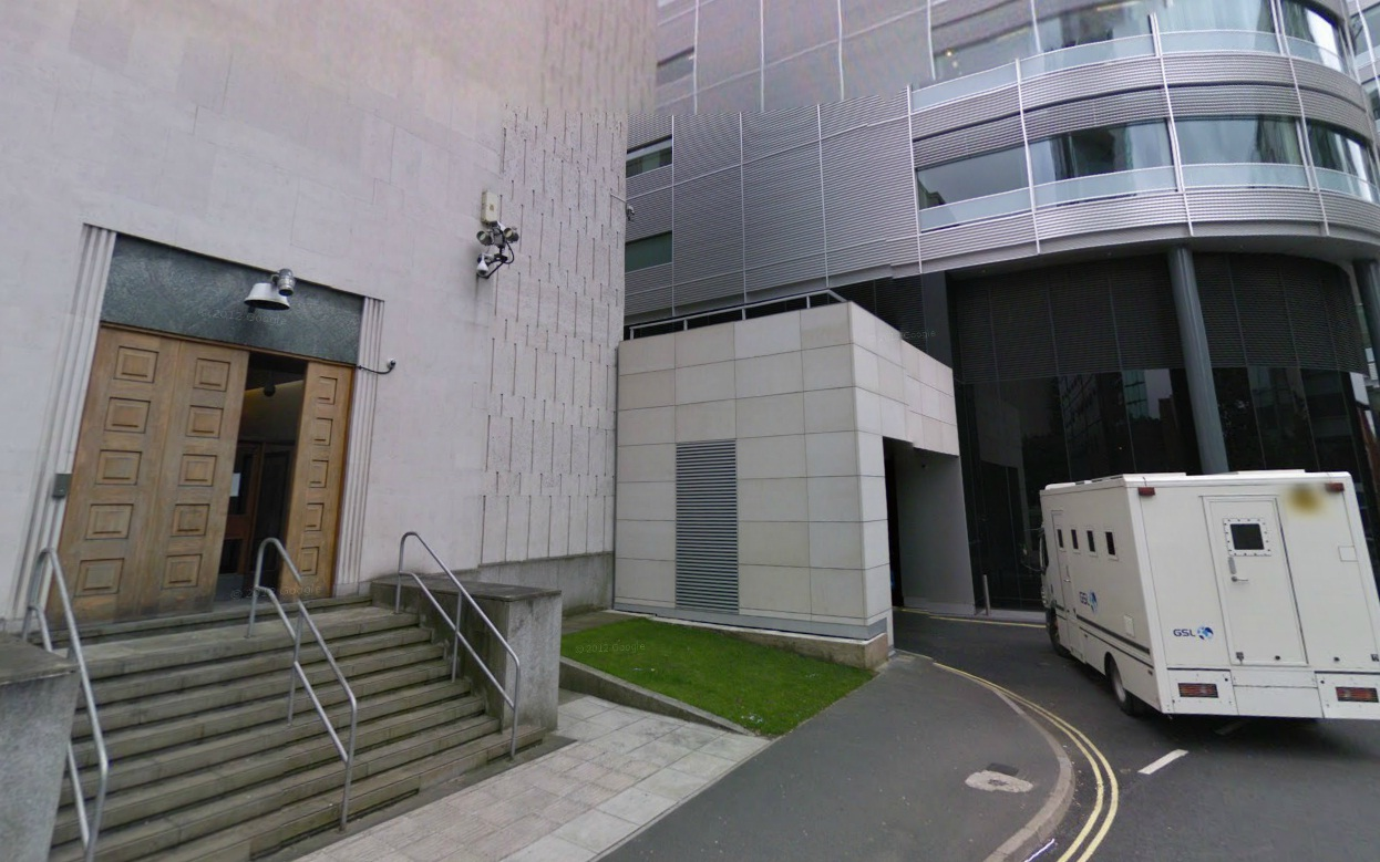 Manchester City Magistrates Court. Picture from Google Maps.