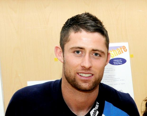 The Bolton News: Gary Cahill on the defensive