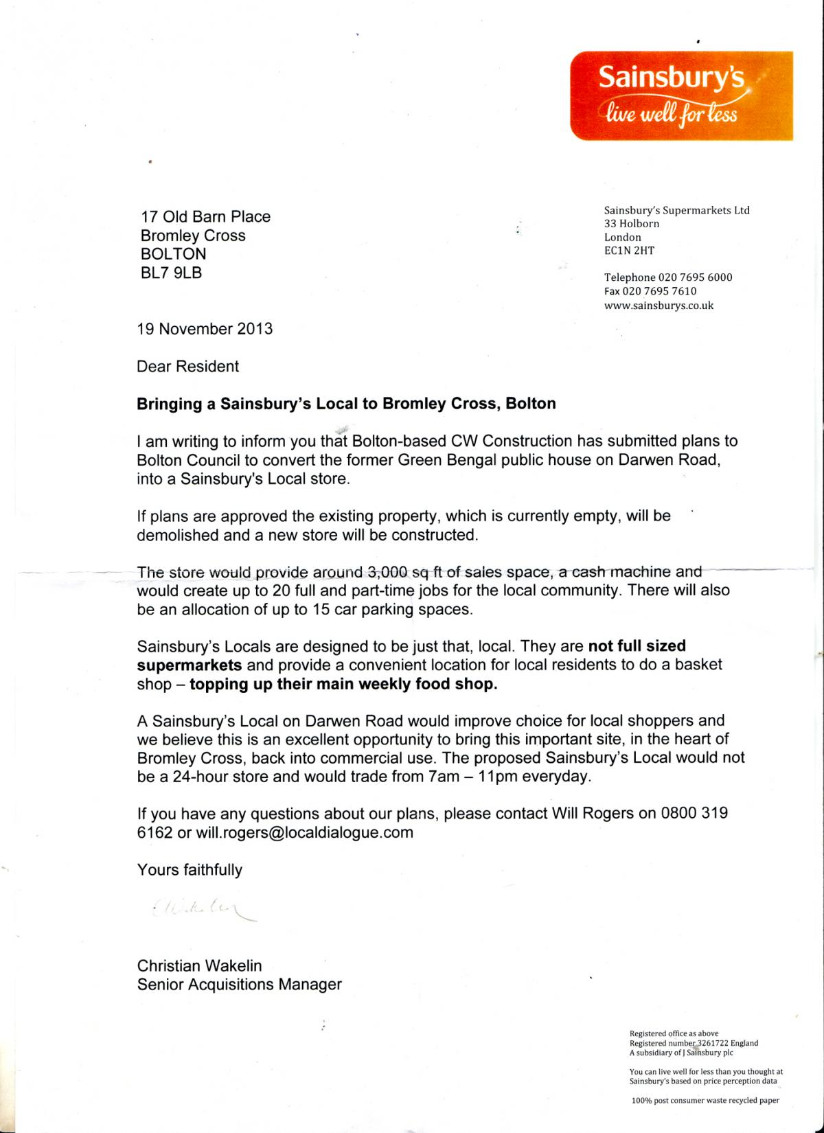 Sainsburys could build supermarket on site of green bengal in sainsburys could build supermarket on site of green bengal in bromley cross falaconquin