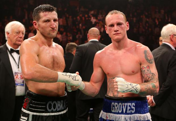Carl Froch and George Groves go head-to-head this weekend