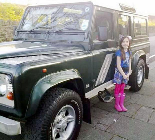Stolen – the Ashton family's Land Rover Defender