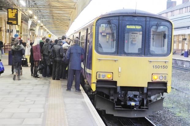 Trains cancelled between Bolton and Preston