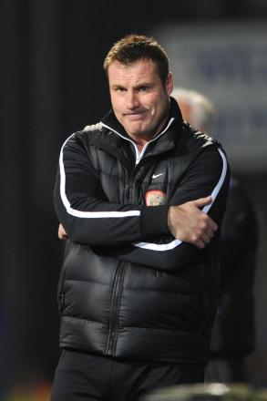 David Flitcroft said he felt like a coach for the first time since he has been at Bury when the Shakers trained on Wanderers' facilities