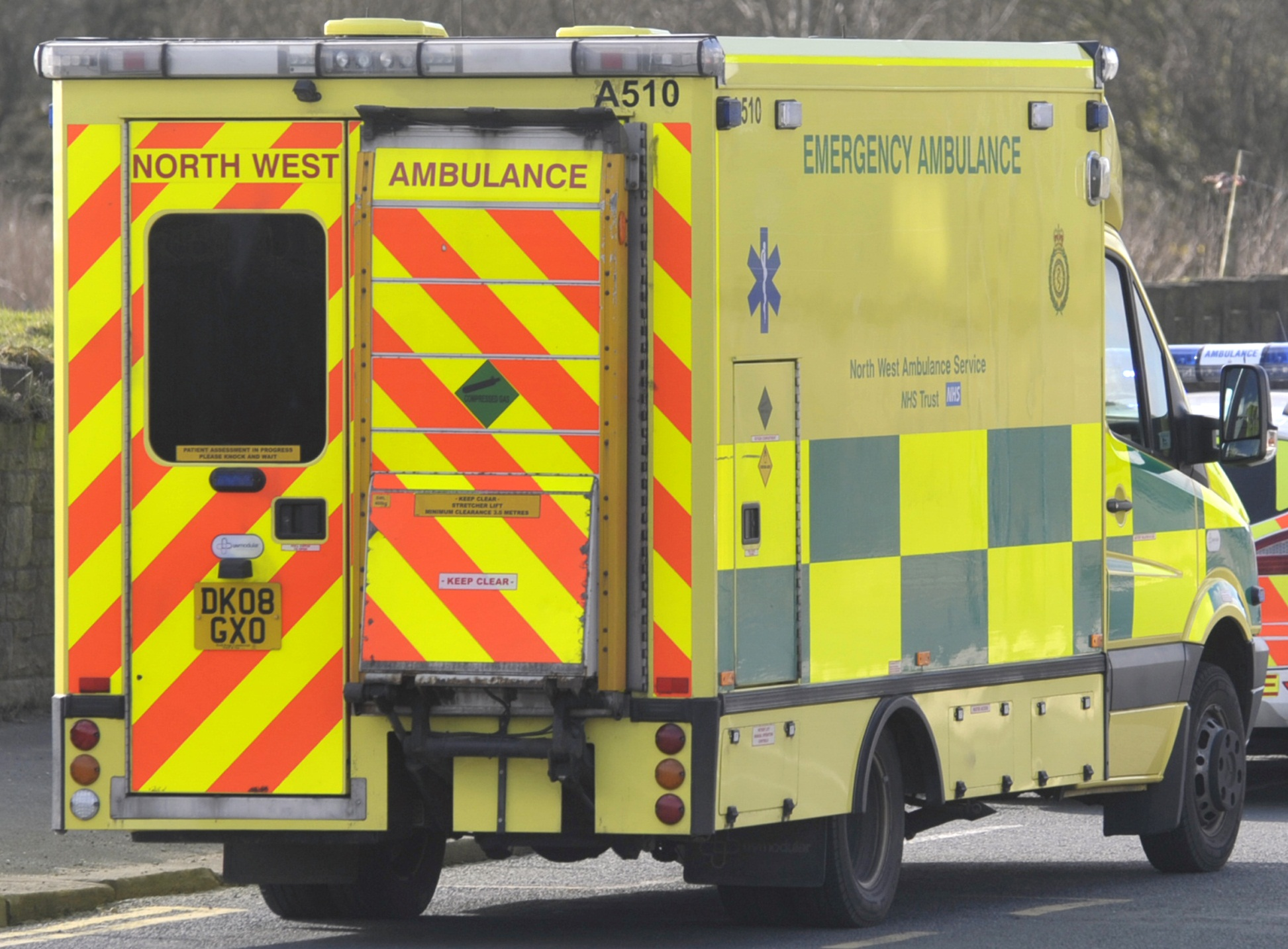 50 patients left waiting in ambulances outside A&E for more than an hour - in just one month