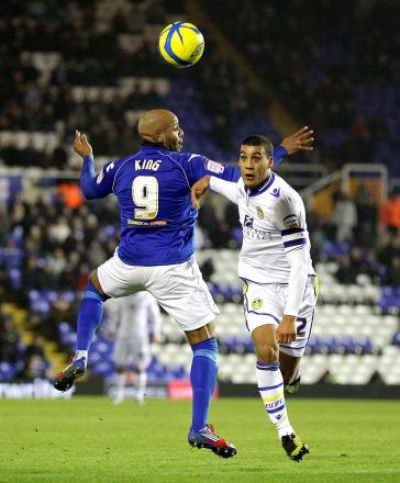 Could Leeds defender Lee Peltier, right, be heading to the Reebok?