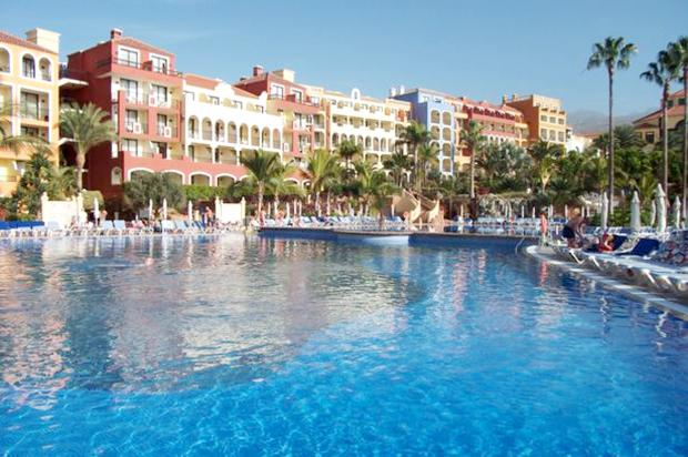 The Bahia Principe Hotel in Tenerife where the explosion happened