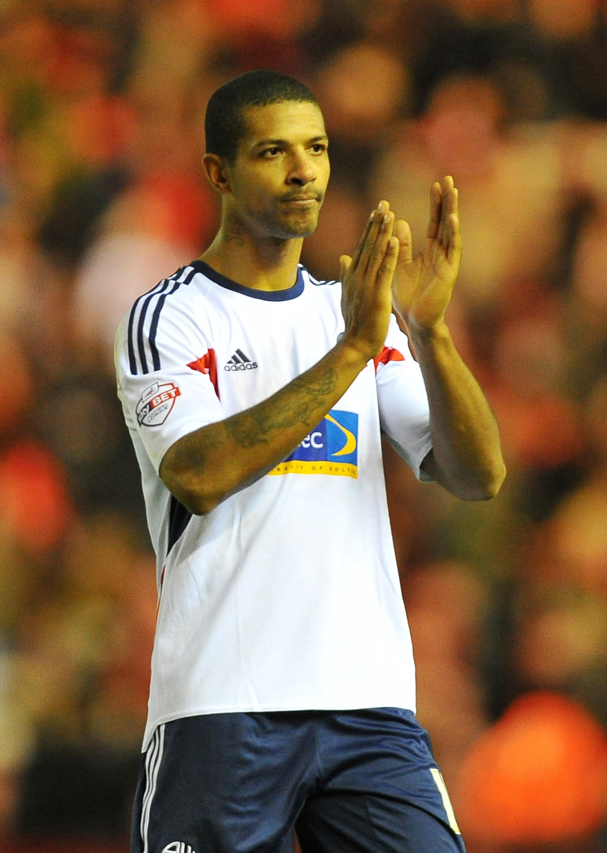Wanderers striker Jermaine Beckford