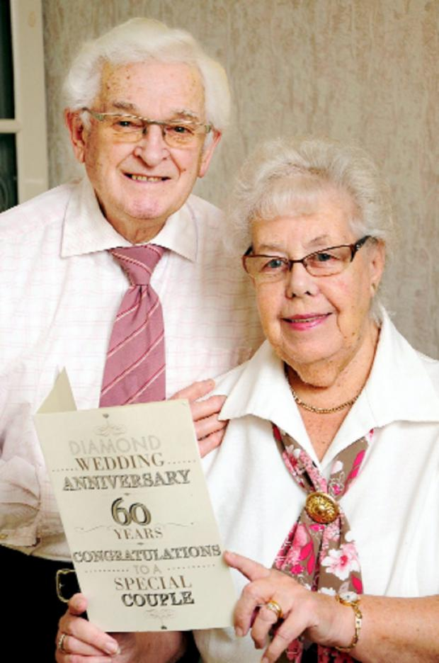 The Bolton News: Ron and Elsie Keeton celebrate their 60th anniversary