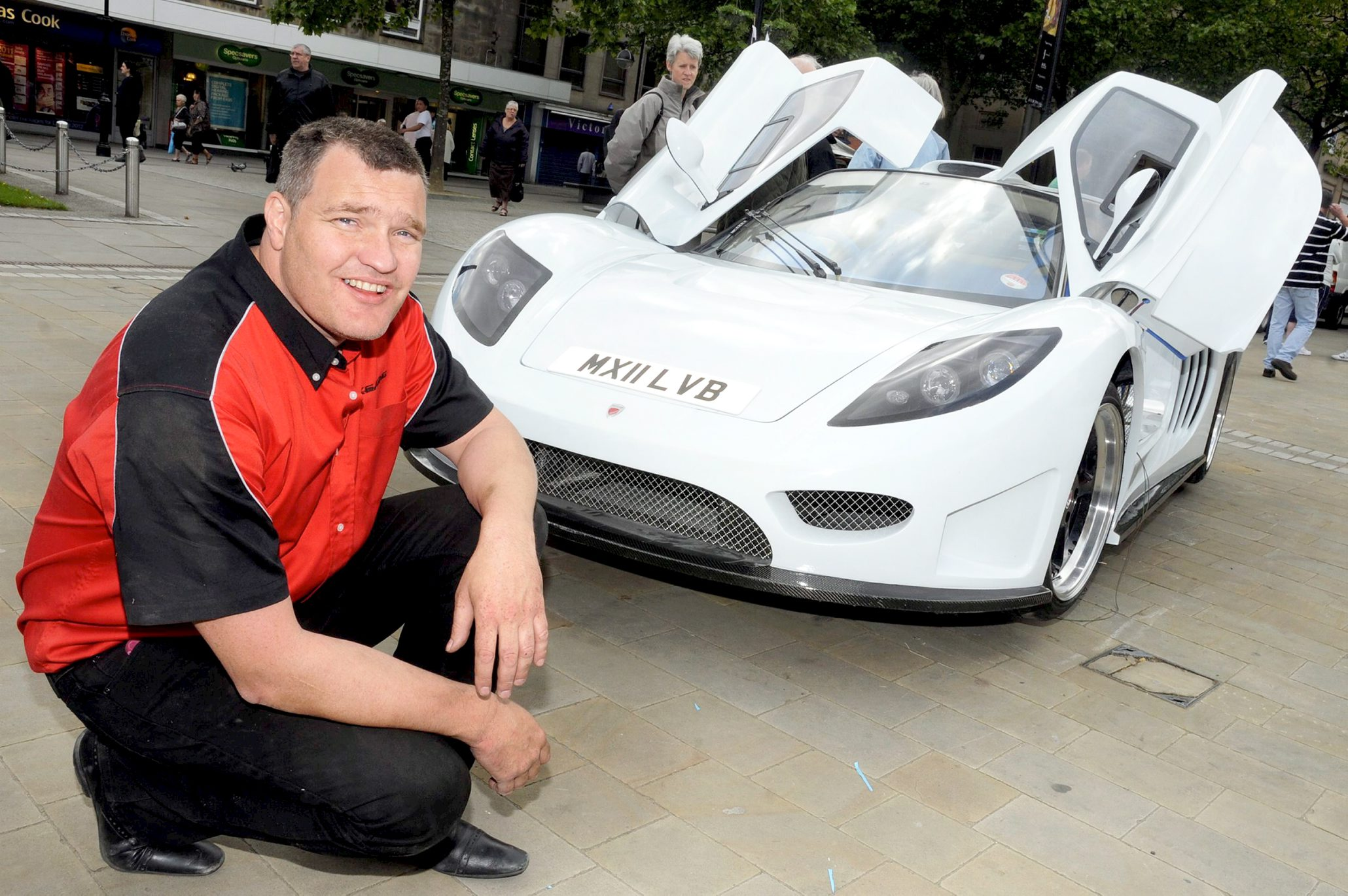 Bolton supercar on display ahead of land speed record attempt