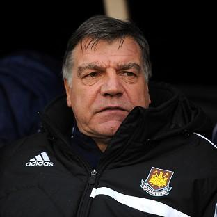 West Ham manager Sam Allardyce is pleased with the backing he has received from the club's co-chairmen