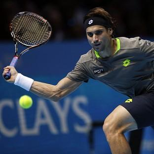 David Ferrer, pictured, beat Donald Young to reach the quater-finals in Auckland