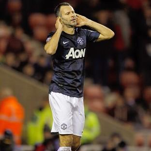 The Bolton News: Ryan Giggs and his Manchester United team-mates endured a frustrating evening at the Stadium of Light
